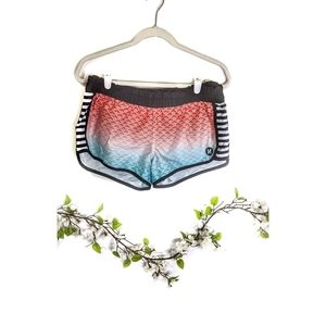 Hurley   Beach Rider Red White and Blue Shortie